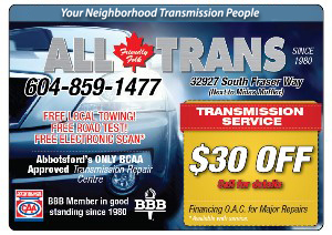 All Trans Transmission Abbottsford, BC